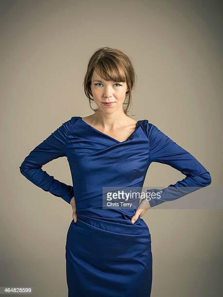 Actor Anna Maxwell Martin is photographed for S Magazine on October 2 2013 in London England
