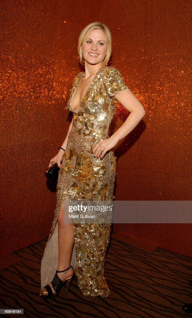 Actor Anna Paquin attends HBO's Post 67th Annual Golden Globes party at Circa 55 Restaurant on January 17, 2010 in Beverly Hills, California.
