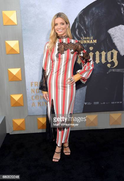Actor Annabelle Wallis attends the premiere of Warner Bros Pictures' 'King Arthur Legend Of The Sword' at TCL Chinese Theatre on May 8 2017 in...