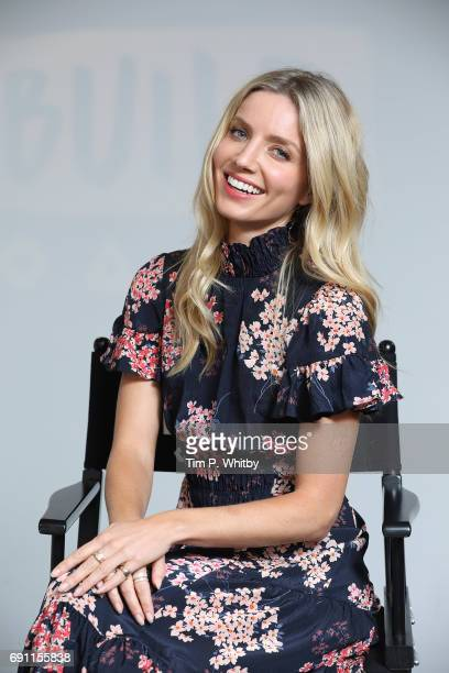 Actor Annabelle Wallis from the cast of The Mummy poses for a photo at the Build LDN event at AOL London on June 1 2017 in London England