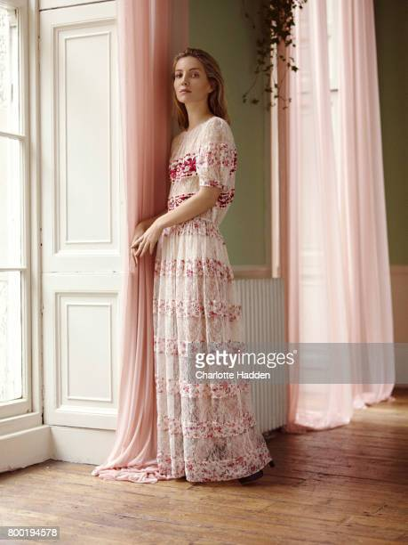 Actor Annabelle Wallis is photographed for Porter magazine on November 30 2015 in London England
