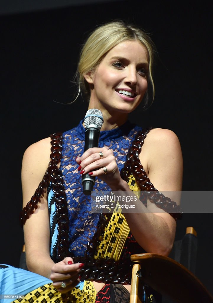 Actor Annabelle Wallis speaks onstage at CinemaCon 2017 Universal Pictures Invites You to a Special Presentation Featuring Footage from its Upcoming Slate at The Colosseum at Caesars Palace during CinemaCon, the official convention of the National Association of Theatre Owners, on March 29, 2017 in Las Vegas, Nevada.