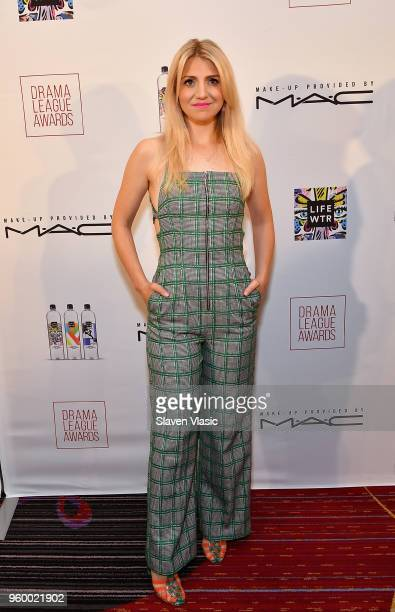 Actor Annaleigh Ashford attends 84th Annual Drama League Awards at Marriott Marquis Times Square on May 18 2018 in New York City
