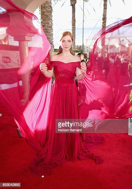 Actor Annalise Basso attends the 23rd Annual Screen Actors Guild Awards at The Shrine Expo Hall on January 29 2017 in Los Angeles California