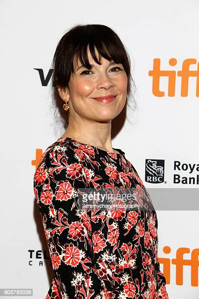 Actor Anne Dorval attends the 'Heal The Living' premiere held at Winter Garden Theatre during the Toronto International Film Festival on September 14...