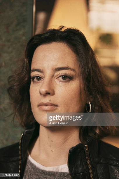 Actor Anne Gaelle Daval is photographed on February 16 2017 in Paris France