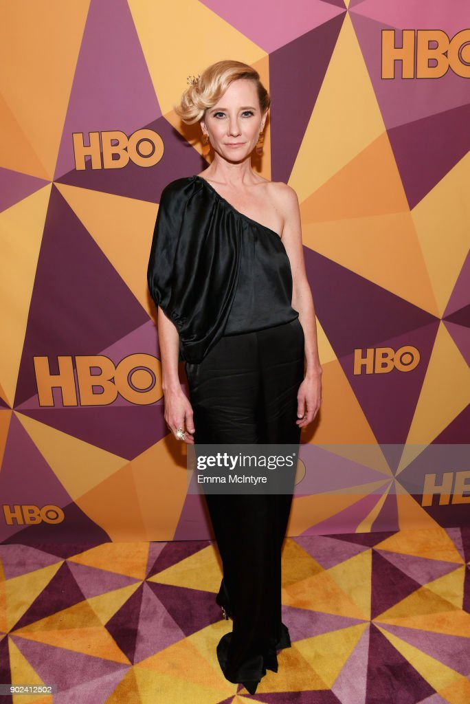 Actor Anne Heche attends HBO's Official Golden Globe Awards After Party at Circa 55 Restaurant on January 7, 2018 in Los Angeles, California.