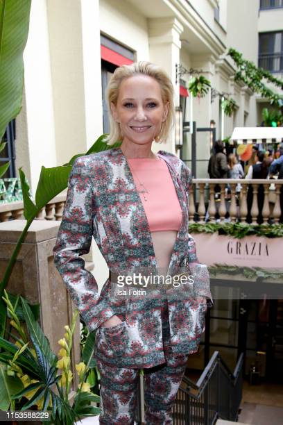 Actor Anne Heche during the Grazia Fashion Night at Titanic Hotel on July 3 2019 in Berlin Germany