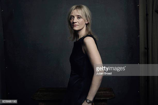 Actor Anne Marie Duff is photographed for Harpers Bazaar on October 8 2015 in London England