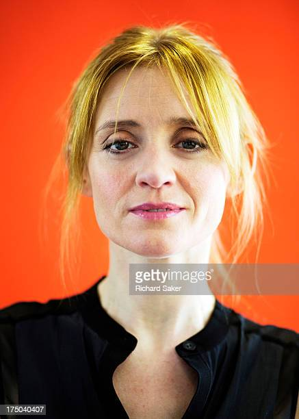 Actor Anne Marie Duff is photographed for the Observer on May 9 2013 in London England