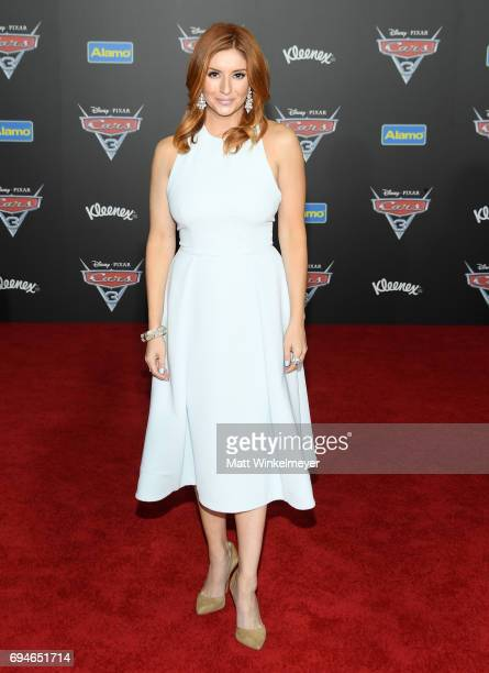 Actor Anneliese van der Pol attends the premiere of Disney and Pixar's 'Cars 3' at Anaheim Convention Center on June 10 2017 in Anaheim California