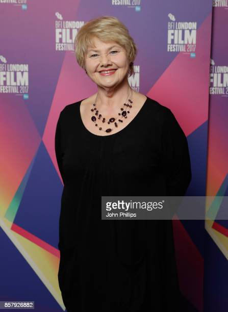 Actor Annette Badland attends a screening of Jabberwocky during the 61st BFI London Film Festival on October 5 2017 in London England