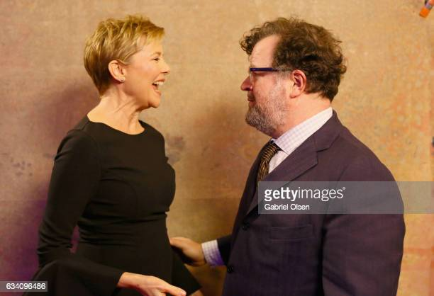 Actor Annette Bening and Director Kenneth Lonergan attend the 16th Annual AARP The Magazine's Movies For Grownups Awards at the Beverly Wilshire Four...