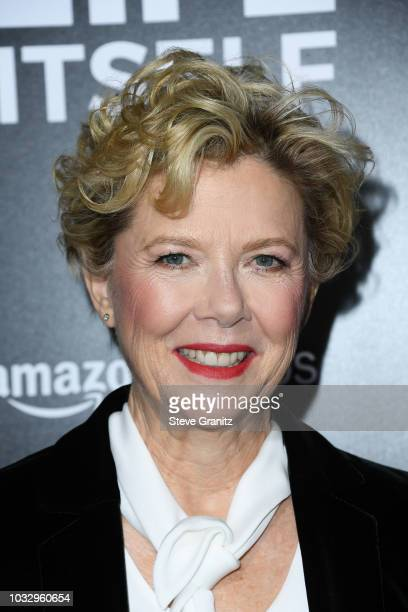 Actor Annette Bening attends the premiere of Amazon Studios' Life Itself at ArcLight Cinerama Dome on September 13 2018 in Hollywood California