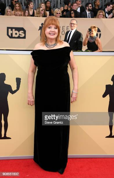 Actor Annie Golden attends the 24th Annual Screen ActorsGuild Awards at The Shrine Auditorium on January 21 2018 in Los Angeles California