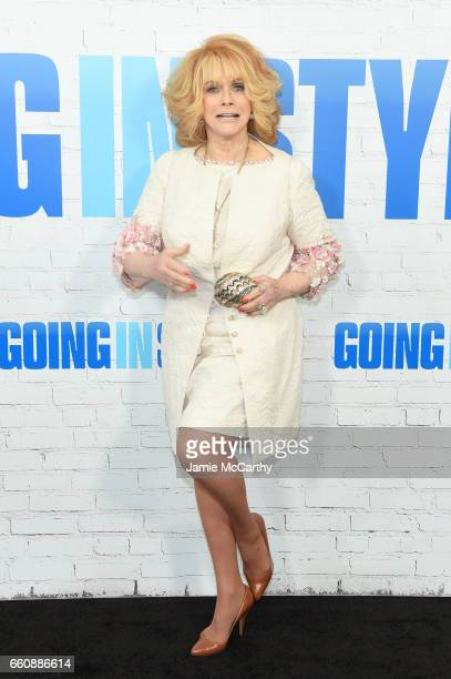 Actor AnnMargret attends the 'Going In Style' New York Premiere at SVA Theatre on March 30 2017 in New York City