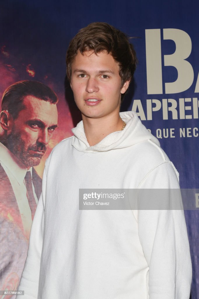 mexico city kart Actor Ansel Elgort attends a go kart race to promote the film 'Baby  mexico city kart