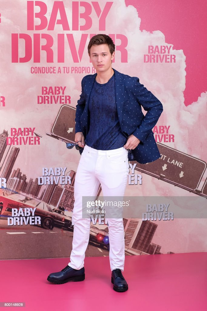 Actor Ansel Elgort attends a photocall for 'Baby Driver' at the Villa Magna Hotel on June 23, 2017 in Madrid, Spain.
