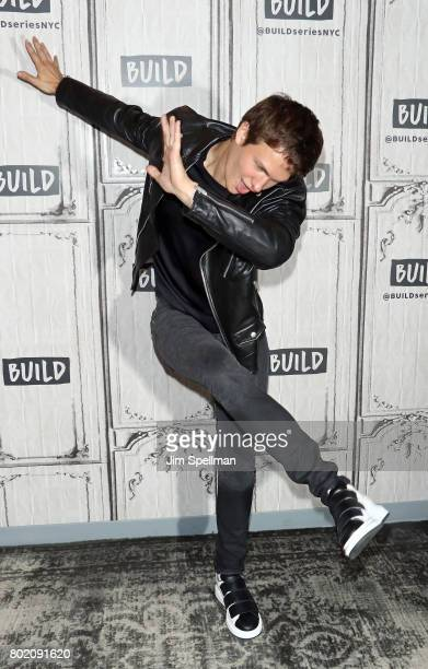 Actor Ansel Elgort attends Build to discuss 'Baby Driver' at Build Studio on June 27 2017 in New York City