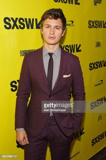 Actor Ansel Elgort attends the 'Baby Driver' premiere 2017 SXSW Conference and Festivals on March 11 2017 in Austin Texas