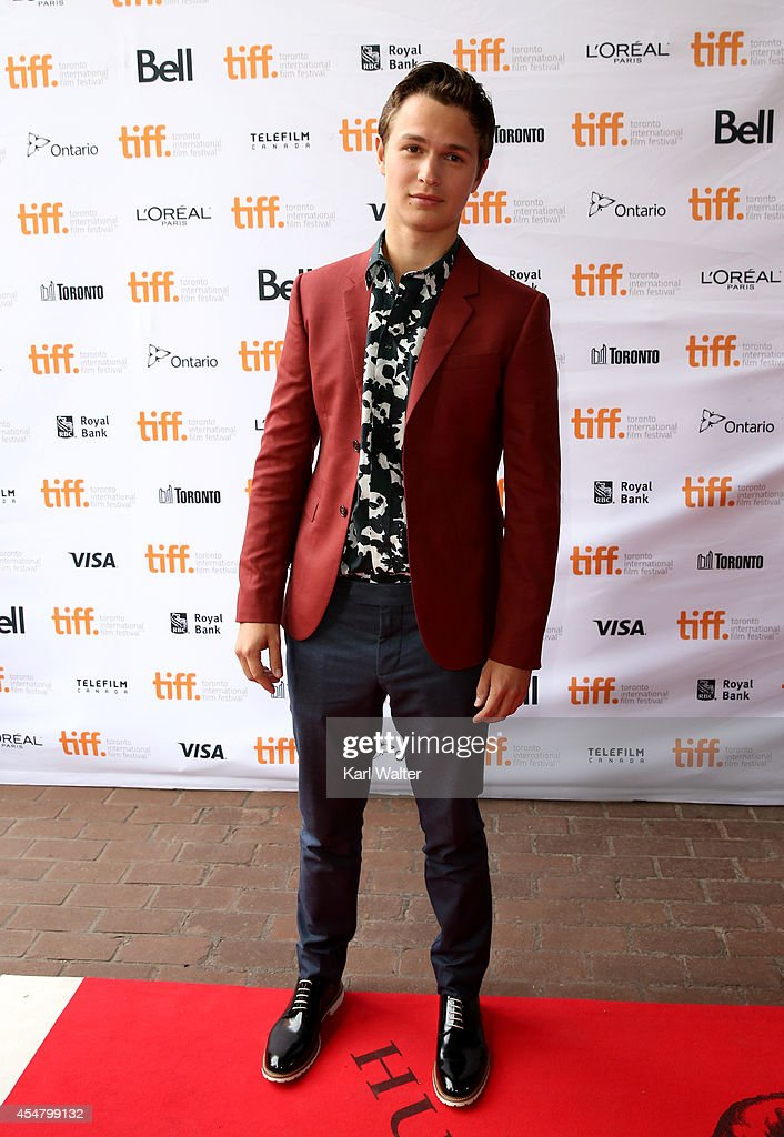 Actor Ansel Elgort attends the 'Men, Women & Children' premiere during the 2014 Toronto International Film Festival at Ryerson Theatre on September 6, 2014 in Toronto, Canada.