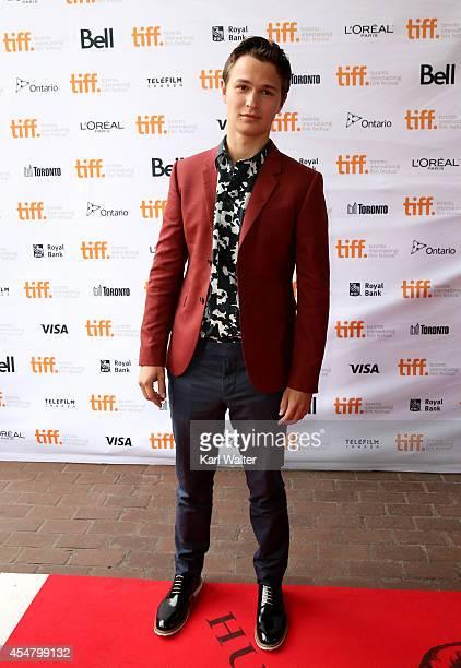 Actor Ansel Elgort attends the Men Women Children premiere during the 2014 Toronto International Film Festival at Ryerson Theatre on September 6 2014...