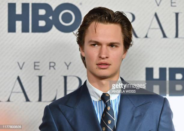 """Actor Ansel Elgort attends the world premiere of HBO Documentary Films """"Very Ralph"""" at The Metropolitan Museum of Art on October 23, 2019 in New York..."""