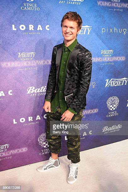 Actor Ansel Elgort attends Variety's Power of Young Hollywood event presented by Pixhug with Platinum Sponsor Vince Camuto at NeueHouse Hollywood on...