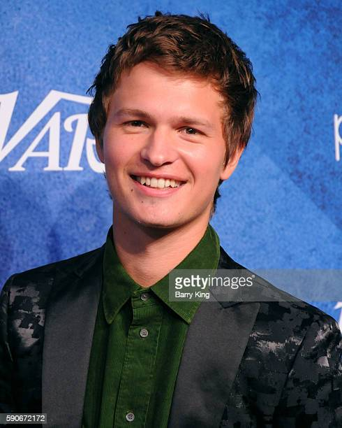 Actor Ansel Elgort attends Variety's Power of Young Hollywood event, presented by Pixhug, with Platinum Sponsor Vince Camuto at NeueHouse Hollywood...