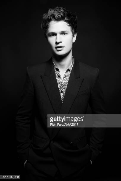 Actor Ansel Elgort poses for a portrait during the 2017 American Music Awards at Microsoft Theater November 19 2017 in Los Angeles California