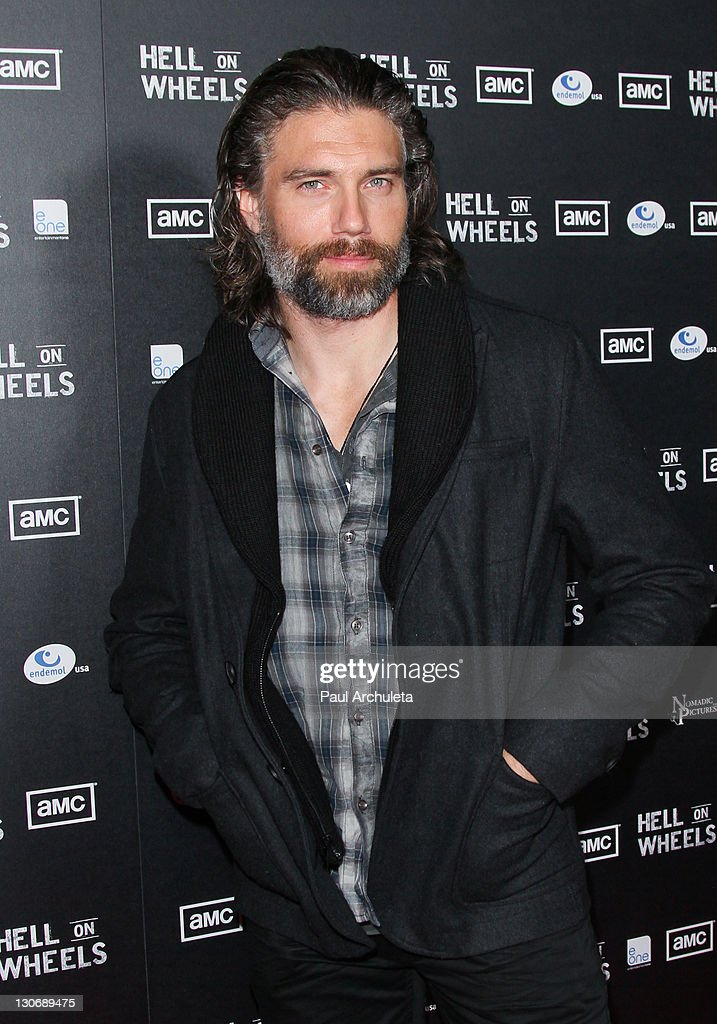 "AMC's New Series ""Hell On Wheels"" Premiere Party : News Photo"