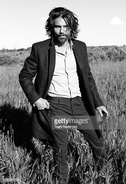 Actor Anson Mount is photographed for Esquire Magazine on July 23 2011 in New York City