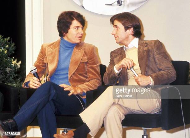 Actor Anson Williams and Henry Winkler attend The Variety Club of Souther California Tent 25's Fourth Annual Variety Club Telethon for Handicapped...