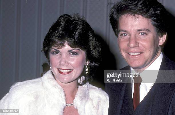 Actor Anson Williams and wife Lorrie Mahaffey attend California's Governor's Committee on Employment of People with Disabilities 1982 Media Access...