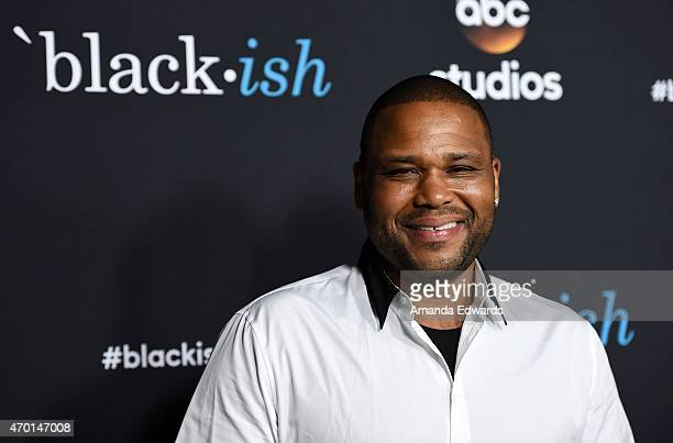 Actor Anthony Anderson arrives at the 'Black-ish' ATAS Event at the at Pacific Design Center on April 17, 2015 in West Hollywood, California.