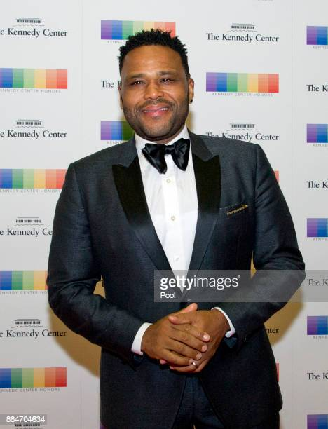 Actor Anthony Anderson arrives for the formal Artist's Dinner hosted by United States Secretary of State Rex Tillerson in their honor at the US...