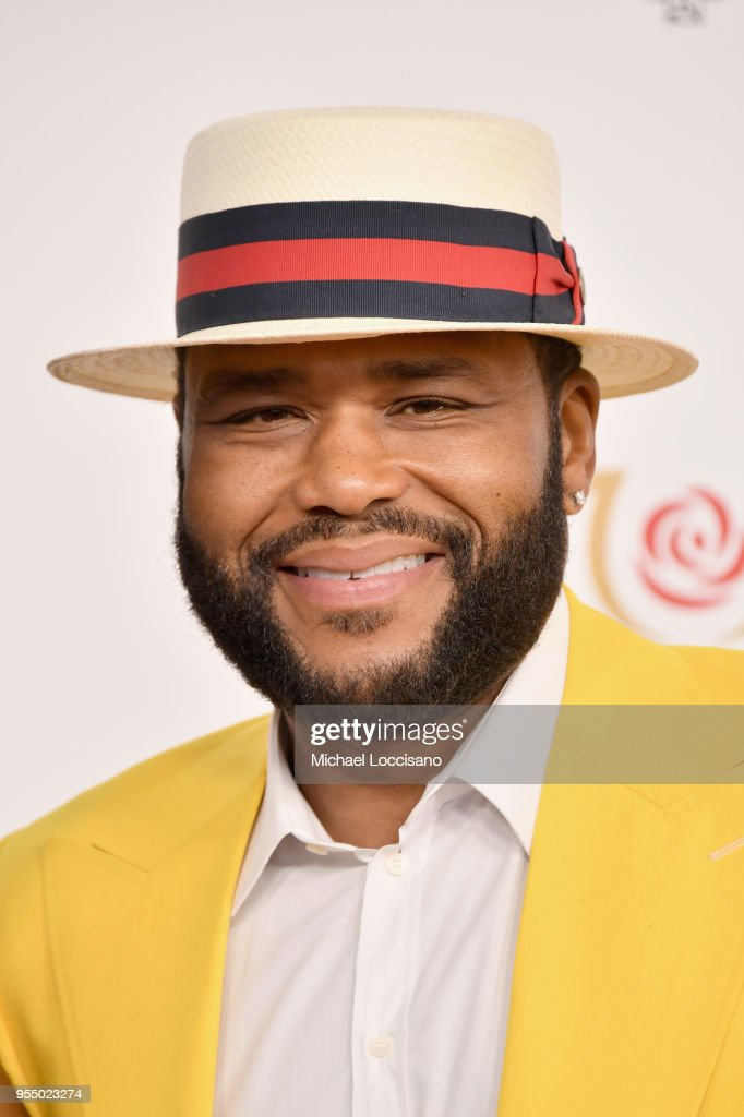 Actor Anthony Anderson attends Kentucky Derby 144 on May 5, 2018 in Louisville, Kentucky.