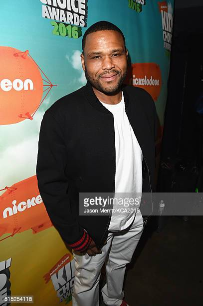 Actor Anthony Anderson attends Nickelodeon's 2016 Kids' Choice Awards at The Forum on March 12 2016 in Inglewood California