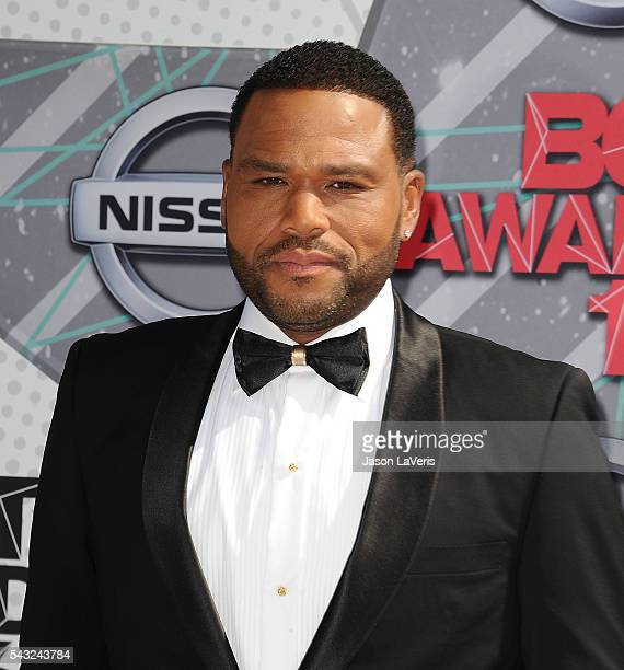 Actor Anthony Anderson attends the 2016 BET Awards at Microsoft Theater on June 26 2016 in Los Angeles California
