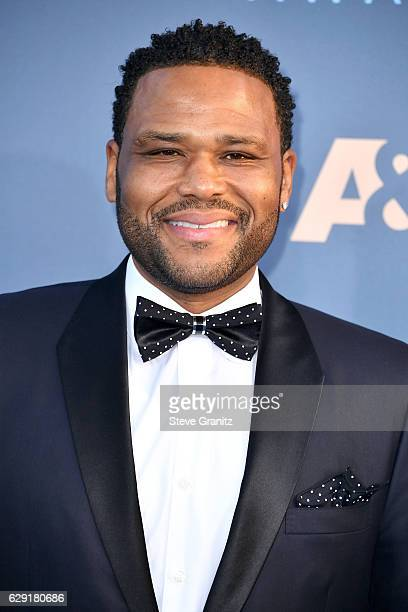 Actor Anthony Anderson attends The 22nd Annual Critics' Choice Awards at Barker Hangar on December 11 2016 in Santa Monica California