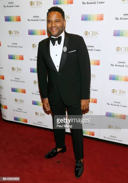 Actor Anthony Anderson attends the 40th Kennedy Center Honors at the Kennedy Center on December 3 2017 in Washington DC