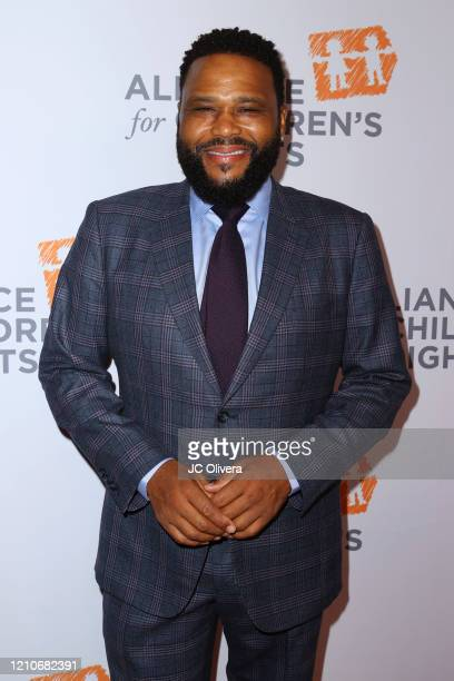 Actor Anthony Anderson attends The Alliance For Children's Rights 28th Annual Dinner Honoring Karey Burke And Susan Saltz at The Beverly Hilton Hotel...