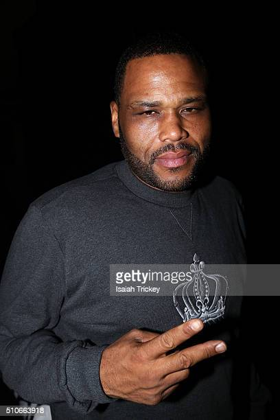 Actor Anthony Anderson attends the Allstar Champions Gala at Exhibition Grounds on February 13 2016 in Toronto Canada