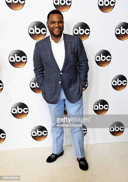 Actor Anthony Anderson attends the Disney ABC Television Group TCA Summer Press Tour on August 4, 2016 in Beverly Hills, California.