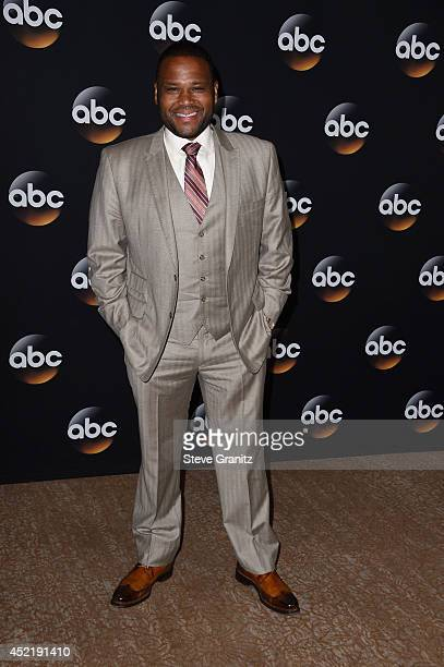 Actor Anthony Anderson attends the Disney/ABC Television Group 2014 Television Critics Association Summer Press Tour at The Beverly Hilton Hotel on...