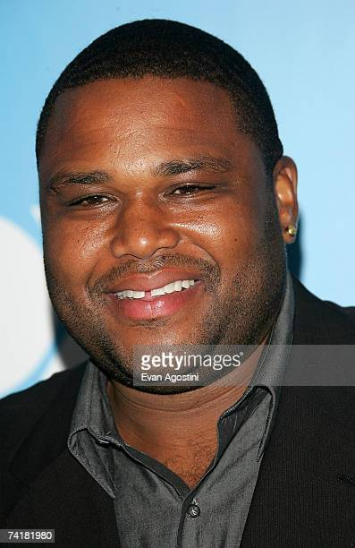 Actor Anthony Anderson attends the FOX 2007 Programming presentation at the Wollman Rink in Central Park on May 17 2007 in New York City