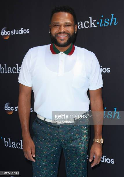 Actor Anthony Anderson attends the FYC event for ABC's Blackish at The Walt Disney Studios on April 28 2018 in Burbank California