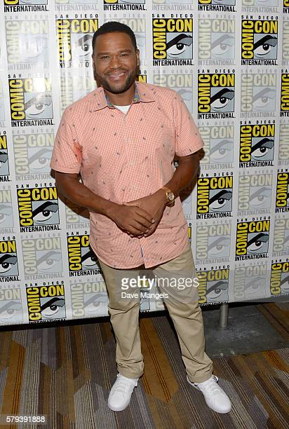 "Actor Anthony Anderson attends the ""Son Of Zoran"" press line during Comic-Con International on July 23, 2016 in San Diego, California."