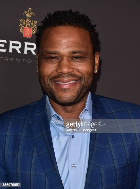 Actor Anthony Anderson attends the Television Academy's Performers Peer Group Celebration at The Montage Beverly Hills on August 21 2017 in Beverly...