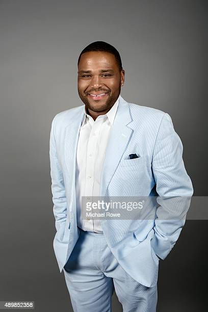 Actor Anthony Anderson is photographed for Essencecom on February 19 2015 in New Orleans Lousiana